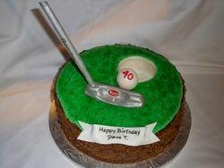 40th Golf cake