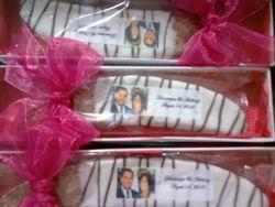 Biscotti wedding favors