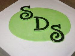 SDS logo cake