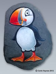 Pete the Puffin.