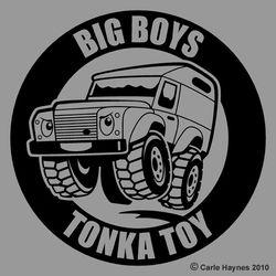 Big Boys Tonka Toy