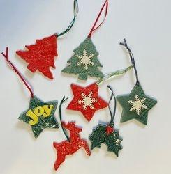 Ornaments  $8 each