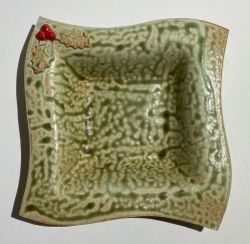 Square Holly Bowl $24