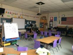 Lauren's classroom