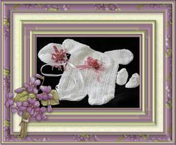 3 piece    crochet set