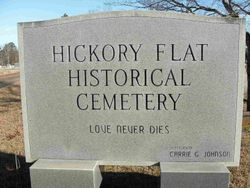 Hickory Flat Historical Cemetery