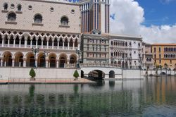 The Venetian casino complex, Macau