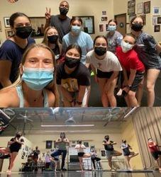 CK Coachella Teen Dance Camp doing Yoga with Lauren