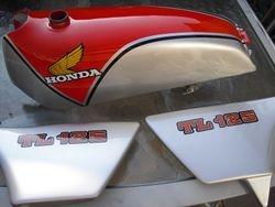 Honda 1977 tl 125s