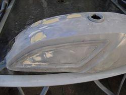 Suzuki Stinger stripped and repaired