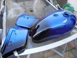 Triumph TR 651981 Candy Smoke Blue