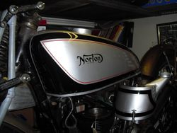 1935 NORTON INTER