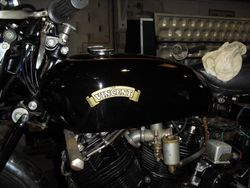 1950`s VINCENT RAPIDE V TWIN