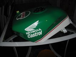 Joey Dunlop tank