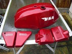 BSA  a65 lightning  1970