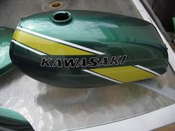 Kawasaki KE175 - After restoration