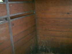 Stall backs and dividers