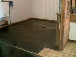 Wash and grooming area