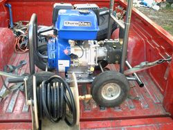 New 16hp 4000psi @ 4gpm unit