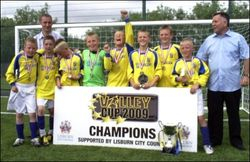 Under 11 Winners: Newhill FC