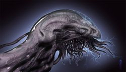 Electric eel alien 1