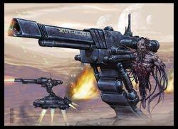 Servitor artillery
