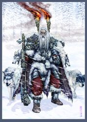 White wolves Ulric priest