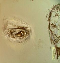 Skellig's eye