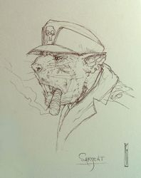 Sergeant rat