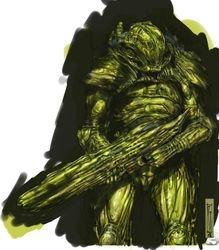 Alien body armour