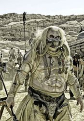 Immortan Joe as he would apear in the movie