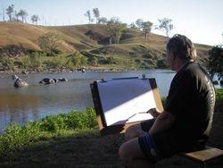 Soren on the Mann River