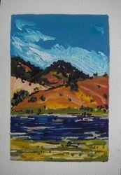 Mann River 2 - postcard