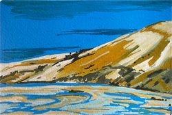 Sandune - postcard