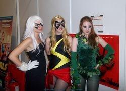 Three Super  Heroines