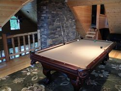 Full size pool table