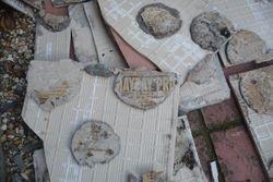 Cutting corners tile job