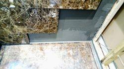 Wall waterproofed