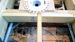 Drain box reinforced
