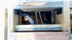 Reinforce the drain box