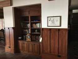 Dining room bookcase