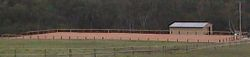 70 x30 Dressage Arena completed