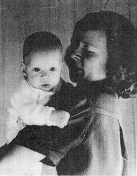 Danny with mother Jean