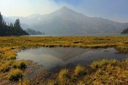 Green Lakes Reflection