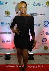 """Demetria McKinney Attended The """"BronzeLens Film Festival"""""""