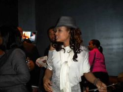 "Demetria McKinney At The ""Church Girl"" After Party In Detriot"