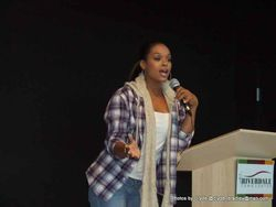 "Demetria McKinney Spoke At The ""Black Women's Roundtable"""