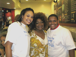 "Demetria Mckinney, Ann Nesby & Larramie ""Doc"" Shaw, Helping To Support The ""Make A Wish Foundation"""