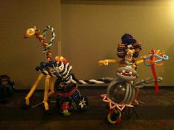 Melman, Marty, Gloria & Alex Madagascar 3
