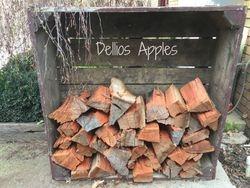Apple Bin for firewood storage